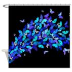 butterfly_flight_shower_curtain